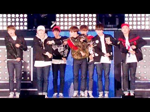 《POWERFUL》 방탄소년단(BTS) - 쩔어(DOPE) @인기가요 Inkigayo 20151101