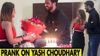 Prank On Yash Choudhary | Part -5 | Rits Dhawan