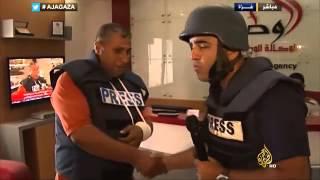 إسرائيل تقصف الوكالة الوطنية للإعلام في غزة