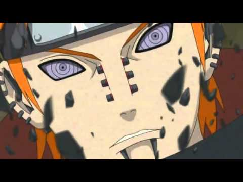 Naruto VS Pain - I am not afraid (Eminem)