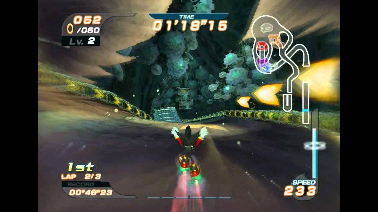 Shadow Dark Rider Sonic Riders pc Shadow The
