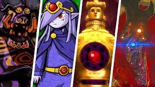 Evolution of Hardest Legend of Zelda Boss Battles (1986 - 2018)