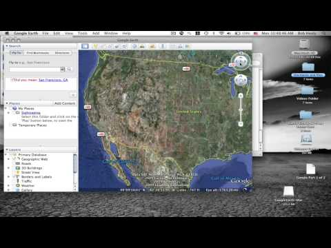 How to install Google Earth for Mac OSX (HD)
