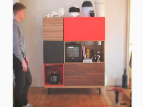 Build your perfect storage unit habitat unique storage for Habitat meuble tv