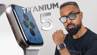 Apple Watch Series 5 TITANIUM Unboxing