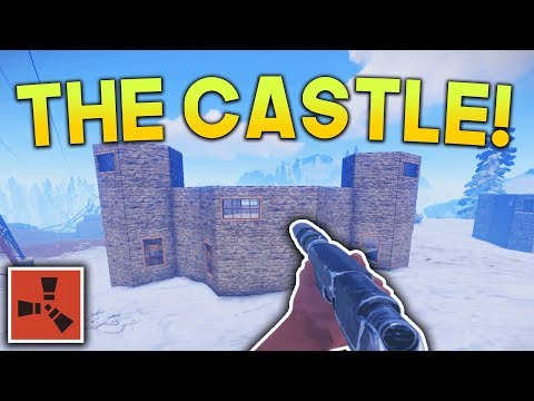 BUILDING THE CASTLE! | Rust SOLO Gameplay #4 | S2