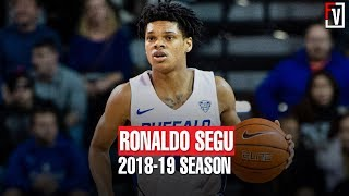 Ronaldo Segu Buffalo Freshmen Season Highlights Montage 2018-2019