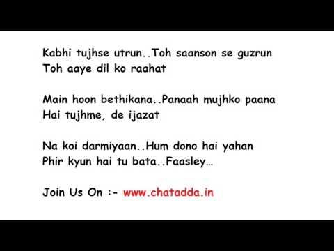BAARISH Full Song Lyrics Movie - Half Girlfriend   Ash King, Shashaa Tirupati