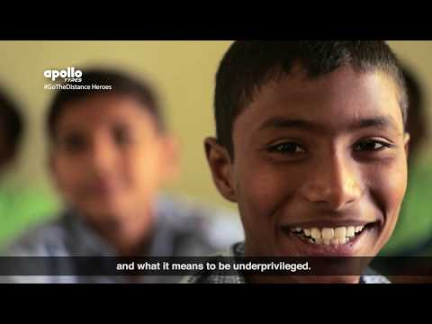 Apollo Tyres | Hi5 Youth Foundation | Go The Distance