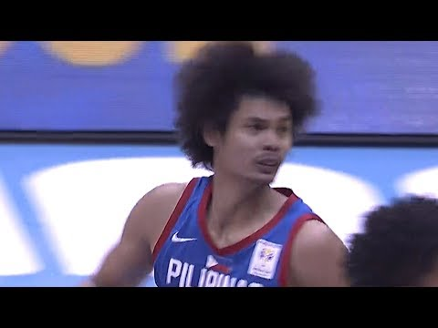 Japeth Aguilar puts it back with authority | FIBA World Cup 2019 Asian Qualifiers