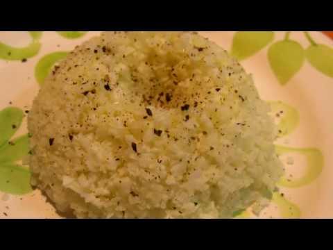Una alternativa al arroz: El arroz de coliflor