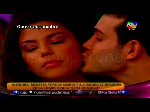 COMBATE: Alondra no Quiere Perdonar a Mario Irivarren por Besar a Alejandra Baigorria 07/11/13