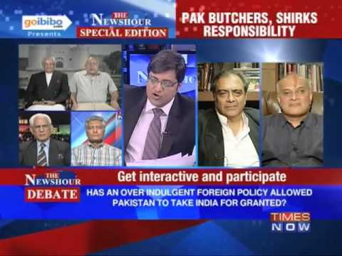 The Newshour Debate: Does Pakistan have any answers for Sarabjit's cruel death? (The Full Debate)