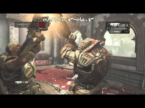 Gameplay | Gears Of War Judgment Act 3 Section 6 Guest Bungalows