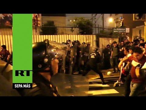 Cuzco: Un muerto y 5 heridos en enfrentamientos con policías