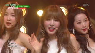 Baixar 뮤직뱅크 Music Bank - Don't Stop Me Now (원곡 Queen) - 네이처(NATURE).20181221