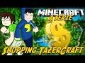 Minecraft: A Série - SHOPPING TAZERCRAFT?! #13