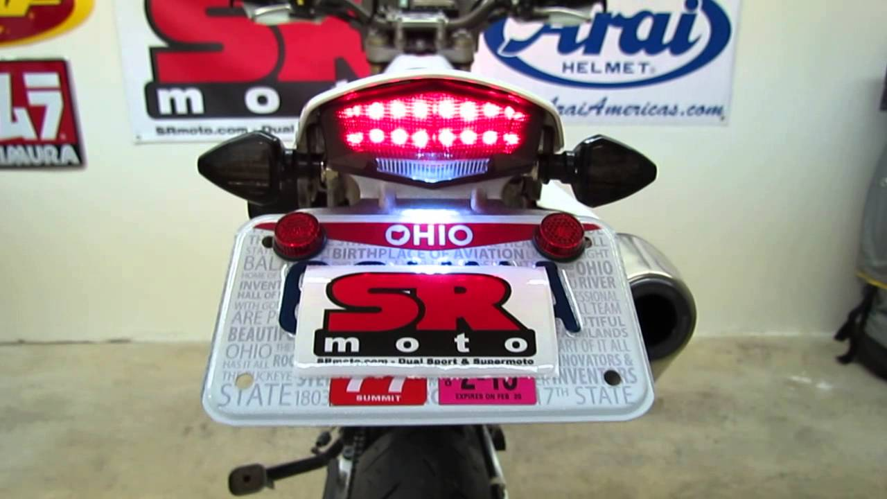 Supermoto Tail Light Kit Tail Light Kit Review