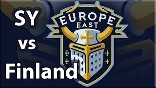 SY vs Finland | Best of 3 | ECL 4v4 QF
