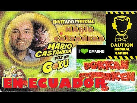 Mario Castañeda (Voz de Gokú) PRESENTACIÓN en Quito - Dos Tipos en Dokkan Genshiken 3