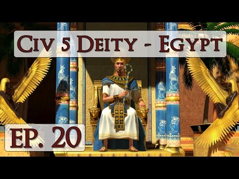Civ 5 Brave New World Deity - Ep. 20 - Let's Play Egypt