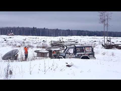 УАЗ Патриот. Горячий Снег 2017