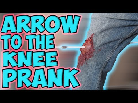 Arrow to the Knee Prank