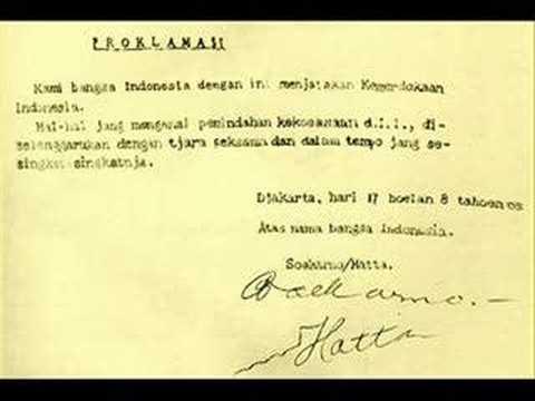 download lagu Proklamasi Kemerdekaan Indonesia gratis