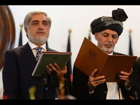 1TV Pashto News - Afghan inauguration day 29.09.2014 خبرونه - د غني او عبدالله وفادارۍ لوړه