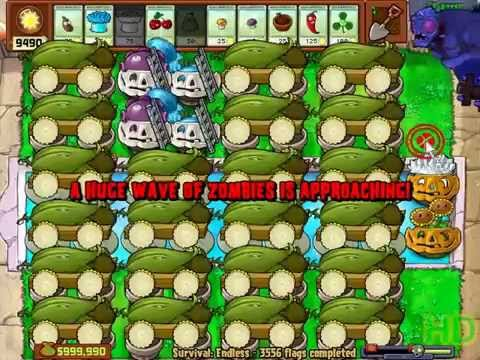 Plants vs Zombies - 22 Cob Cannon Strategy