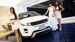 Jaguar Land Rover台北車展名模預賞
