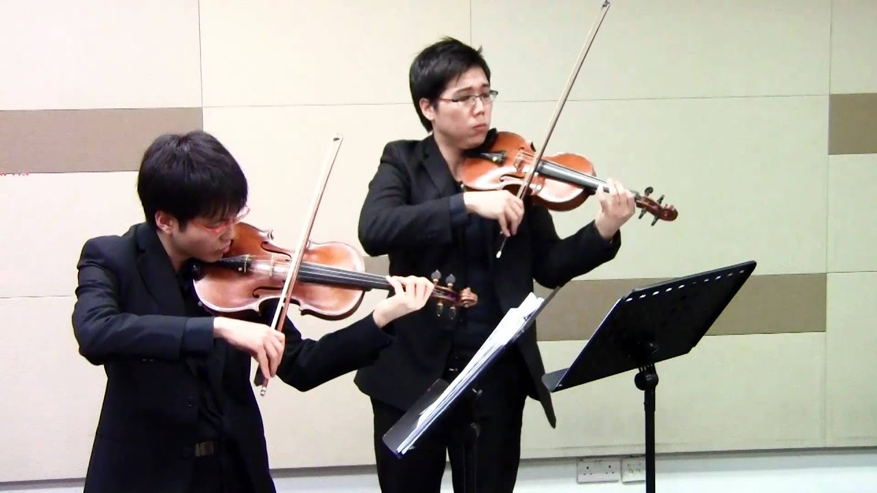 Violin viola duet wedding