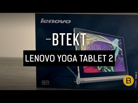 Lenovo YOGA Tablet 2 10.1 unboxing video & hands-on