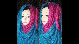 Wedding Hijab tutorial    Hijabi beauty   