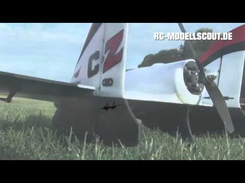 Test und Video E-flite Carbon-Z SCIMITAR von Horizon Hobby