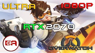 Overwatch MSI GS75 RTX 2070 MAX Q (Dual Channel)