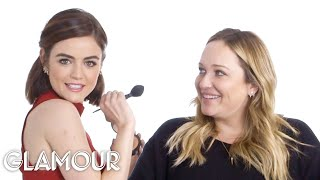 Watch Lucy Hale Do Her Makeup Artist's Makeup