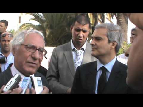 Point de presse Moulay Hicham et Abderahim Berrada