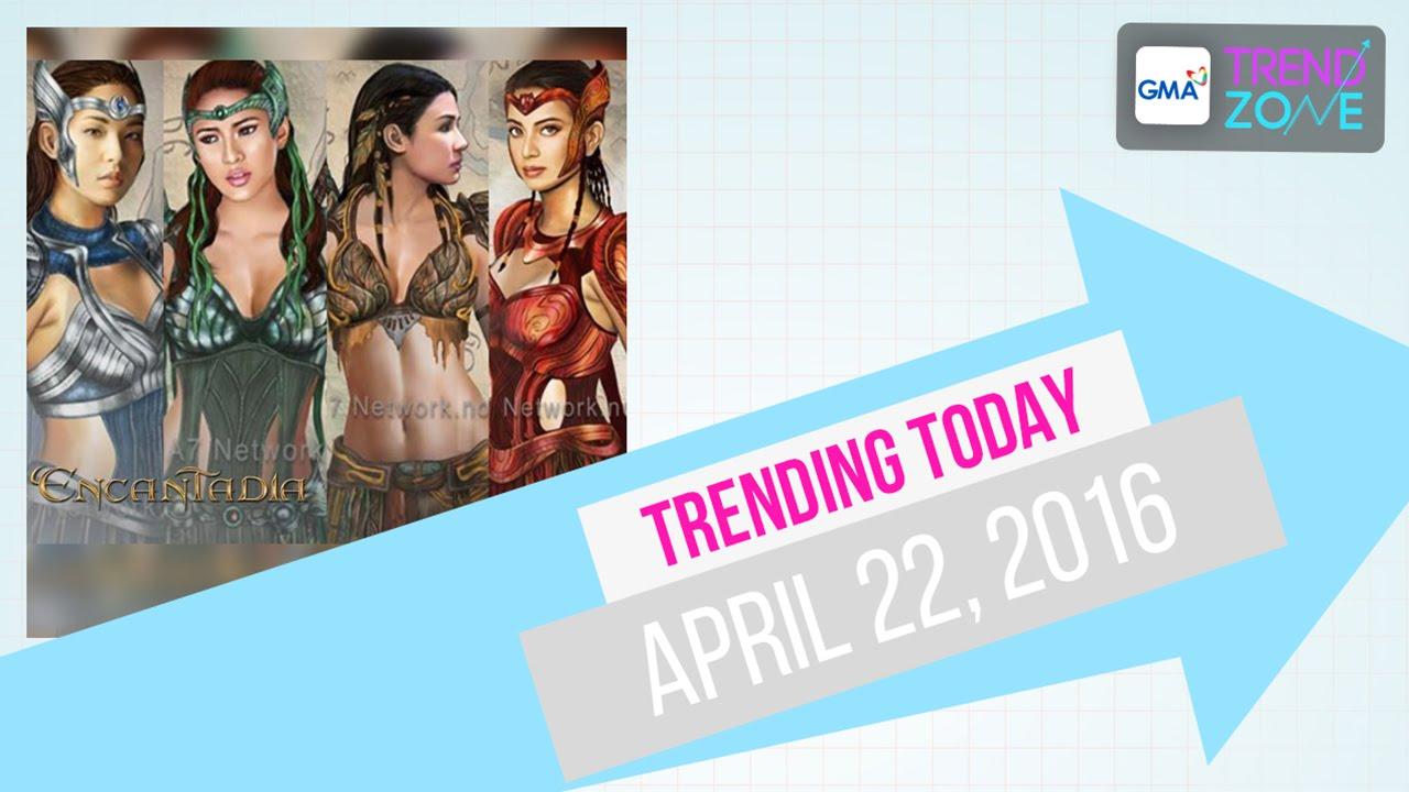 Trendzone - April 22, 2016
