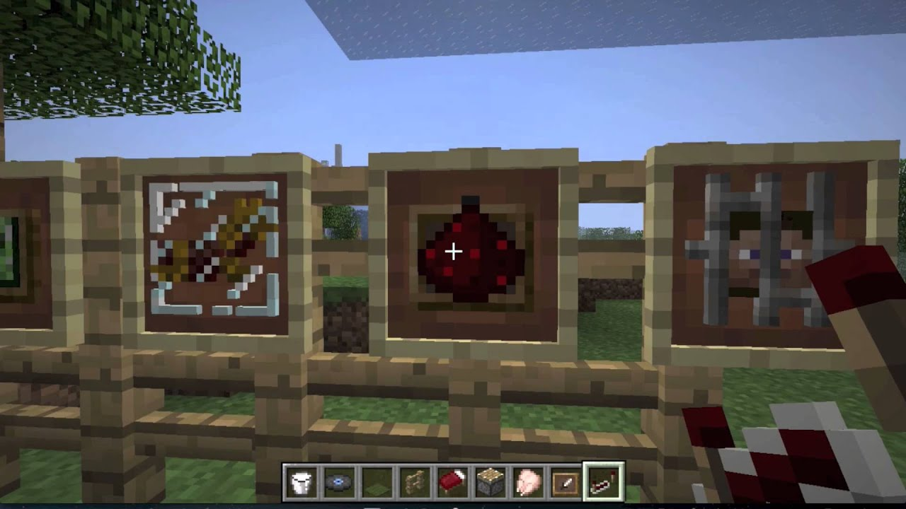 Cool Tricks in Minecraft Cool Item Frame Trick And