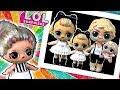 Бабушка ЛОЛ ООАК и ее СЕМЕЙКА LOL 80s B.B. Мультик про куклы лол сюрприз! Families Surprise