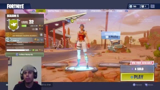 Fortnite Battle Royale Live Stream | Solo Grind |No Skin Movement ! Must watch!!!