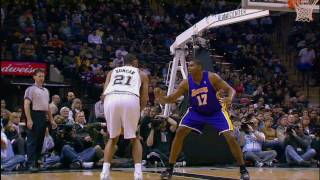 Tim Duncan and his fundamental Bank Shot