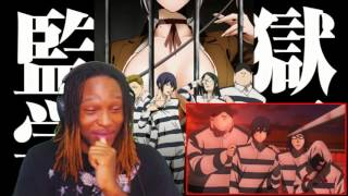 OMG! Prison School Funny Moment #1   [REACTION]