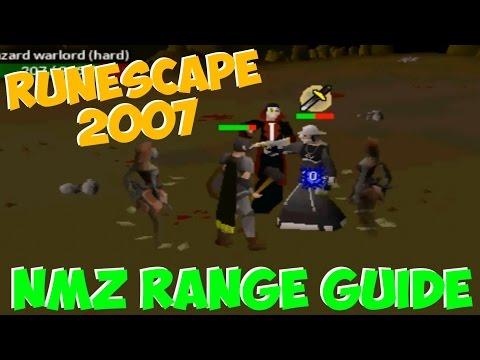 Runescape 2007 Nightmare Zone Range Guide 55k+ Per Hour