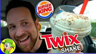 Burger King® | TWIX® Shake Review 🍦🍫🥤 | Peep THIS Out! 🍔👑