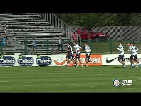PINZOLO 2014 - ALLENAMENTO INTER REAL AUDIO 13 07 2014
