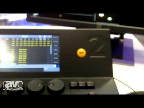 InfoComm 2015: A.C.T. Lighting Previews grandMA2 Control System