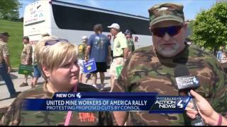 Protest draws large crowd to Consol Energy headquarters