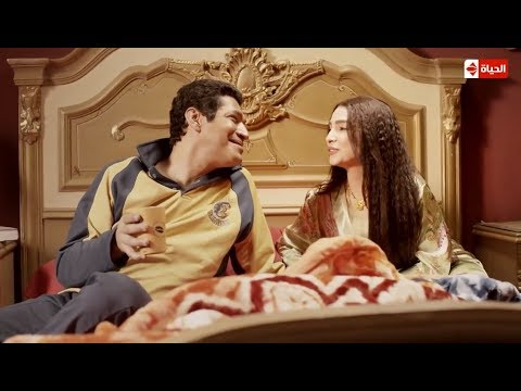 الزوجة التي يتمناها كل رجل ... مشهد رومانسي بين روجينا وباسم سمرة #بين_السرايات thumbnail